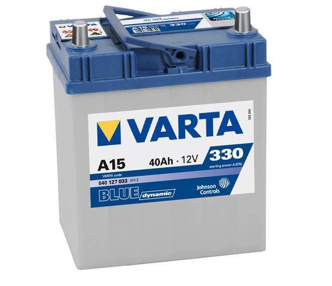 Batterie Varta blue dynamic A15 12v 40ah 330A 540 127 033